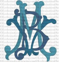 Blessed Virgin Mary | Religious Embroidery Machine Design