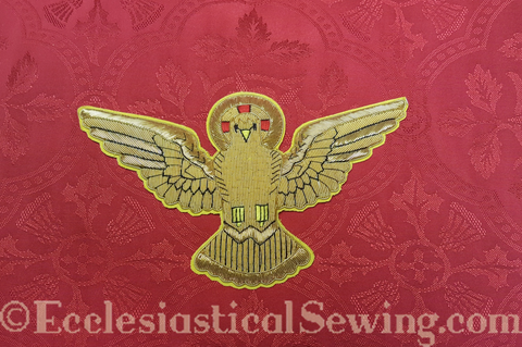 Dove Goldwork Applique for Pentecost