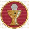 Chalice and Host--Religious Machine Embroidery File