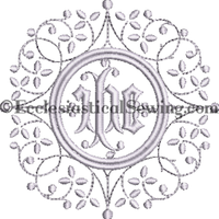 IHC Altar Linen Machine Embroidery Design | Altar Linen Embroidery Designs Machine Embridery Ecclesiastical Sewing