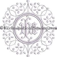 Fairlinen Machine Embroidery Designs | Linen embroidery designs Ecclesiastical Sewing