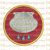 Baptism Religious Machine Embroidery Design