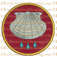 Baptism - Religious Embroidery Design File
