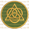 Trinity Creed--Religious Machine Embroidery File