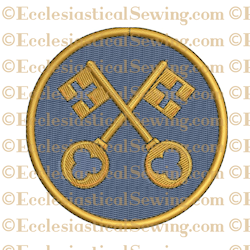 Office of Keys--Religious Machine Embroidery File