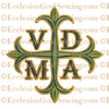 VDMA Greek Cross--Religious Machine Embroidery File