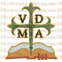 VDMA with Bible--Religious Machine Embroidery File