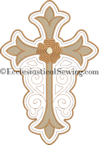 Church altar hanging machine embroidery design | Digital Religious Machine Embroidery Design Ecclesiastical Sewing
