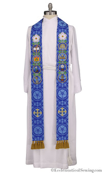 O'Antiphone Advent Stole for Pastors (QS)