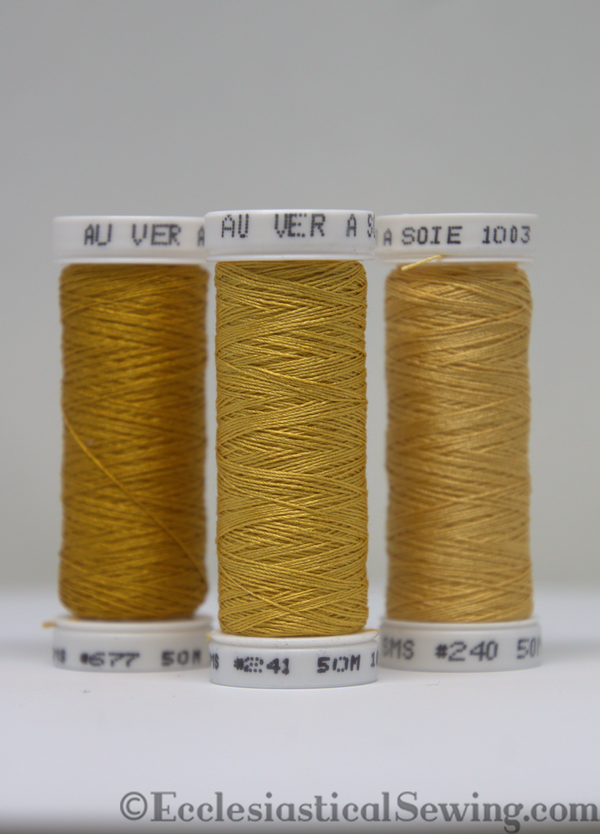 Au Ver A Soie - Soie 100/3 Silk Thread Colors 006 to 348
