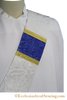 Blessed Virgin Mary Priest/Pastoral and Deacon Stole (QS)