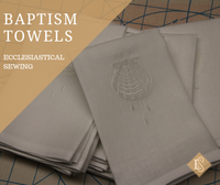 Altar Linens and Altar Cloth for Baptism | Baptism Towels