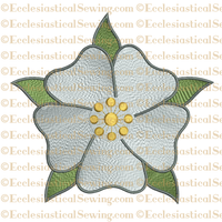 Messianic Rose Solo--Religious Embroidery Machine File