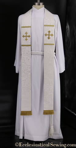 Clergy Stoles for Confession, Baptism and Last Rites | Pastor and Priest Stoles