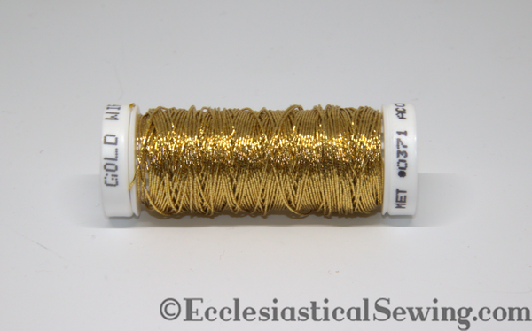 Goldwork Thread | 371 Wire Goldwork Thread Ecclesiastical Sewing