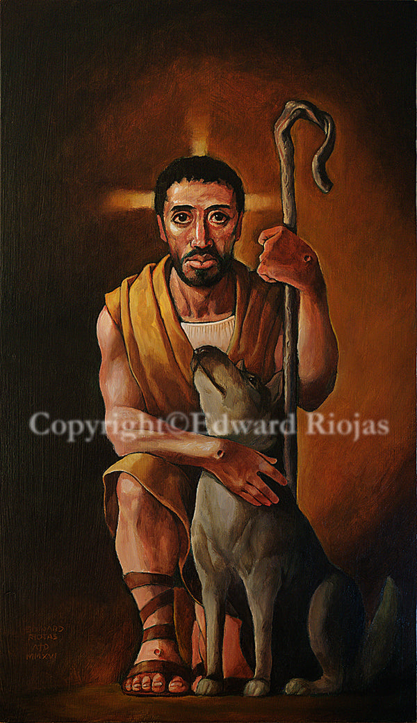Great Shepherd Riojas | Liturgical Art Print Ecclesiastical Sewing Edward Riojas