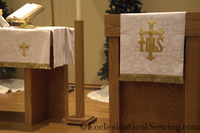 Goldwork and Bullion Pulpit/Lectern Fall