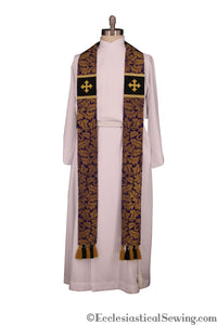 Regal Collection of Pastor and Priest Stoles (QS)