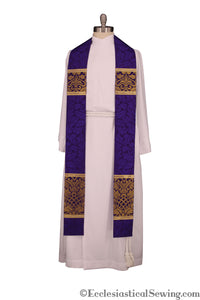 Stole Styles in the Saint Ambrose Ecclesiastical Collection (QS)