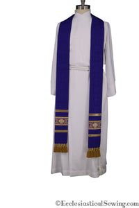 Anglican Vestments Catholic Priest Stoles Church vestments Religious Vestments pastor stoles Ecclesiastical Sewing