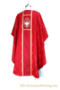 Luther Rose Chasuble Style #4 with Orphrey Embroidery and Dove