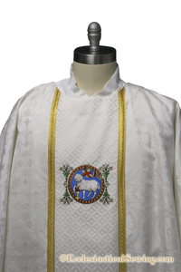 Evangelist Chasuble and Stole Set