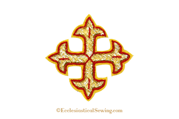 Cross Goldwork Applique