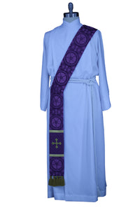 Advent Lent Deacon Stole Luther Rose Ecclesiastical Sewing Priest pastor Clergy Stole
