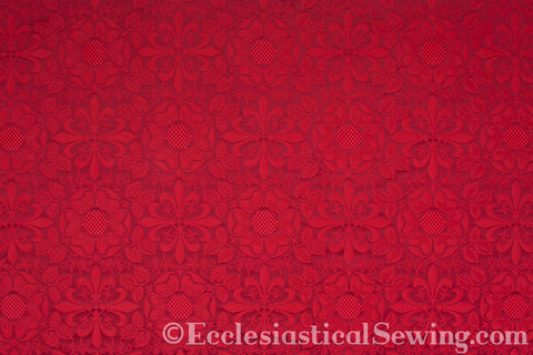 Lichfield Brocade Liturgical Fabric