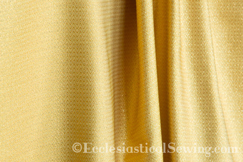 Lurex Diaper Gold Liturgical Fabric