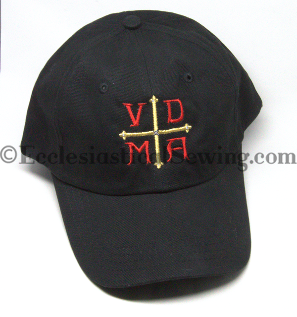 Luther Rose VDMA Reformation Baseball hat | Lutheran Rose Baseball Hat VDMA Ecclesiastical Sewing