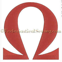 Omega--Religious Machine Embroidery File