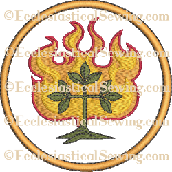 O'Adonai Rondel--Religious Machine Embroidery File