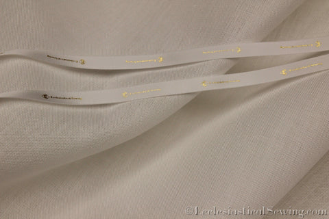 Radiance Optic White Linen Liturgical Fabric