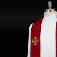 Stole Style #6 | Luther Rose | Clergy Stole