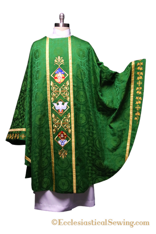 Sanctified Chasuble for Trinity Season