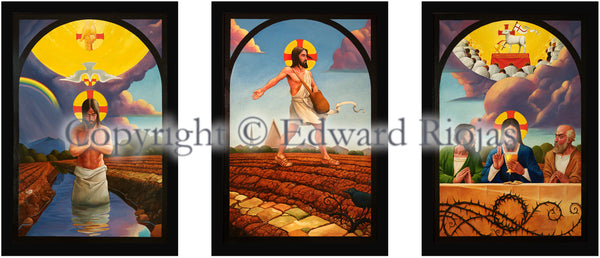 Sower of the Seminary Liturgical Art Print | Edward Riojas Artist