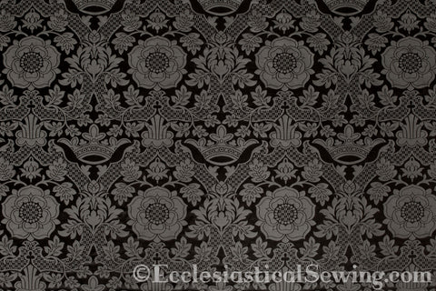 St. Margaret Brocade Liturgical Fabric Online | Ecclesiastical Sewing