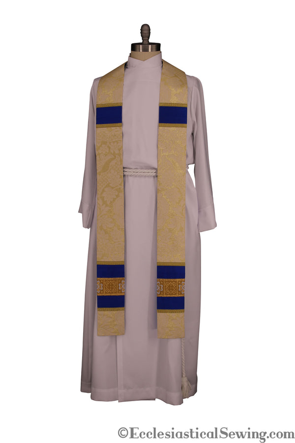Marian Stole PPriest Stole | Priest Stole Marian Vestments Ecclesiastical Sewing
