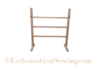 Trestle frame stand for slate frames | hand embroidery