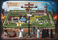 Parables of the Vineyard Riojas | Liturgical Art Print Ecclesiastical Sewing Edward Riojas