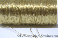WHite Gold #371 Wire Thread | Goldwork metal Threads Hand Embroidery Ecclesiastical Sewing