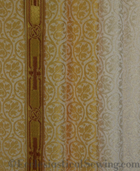 York Brocade Liturgical Fabric