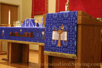 Advent Altar Frontals & Hangings | City of David Pulpit and Lectern Falls