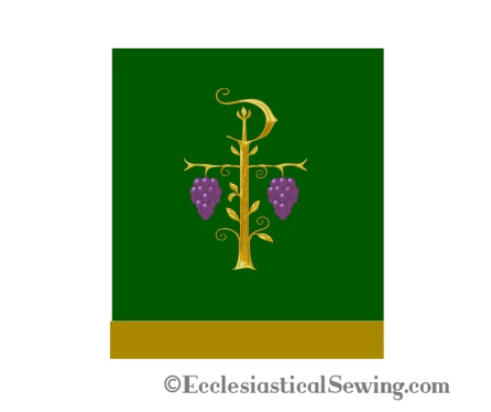 Church Altar Decorations & Altar Hangings | Chi Rho & Grape Designs