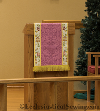 Altar Frontals & Altar Decorations | Pulpit and Lectern Falls