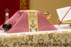Altar Frontals & Altar Decorations | Chalice Veil Rose