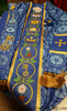 Blue Vestments & Chasubles for Advent | City of David Collection (Sale)
