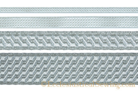 Silver BS Braid Trim