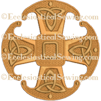 Canterbury Cross Celtic--Religious Machine Embroidery File